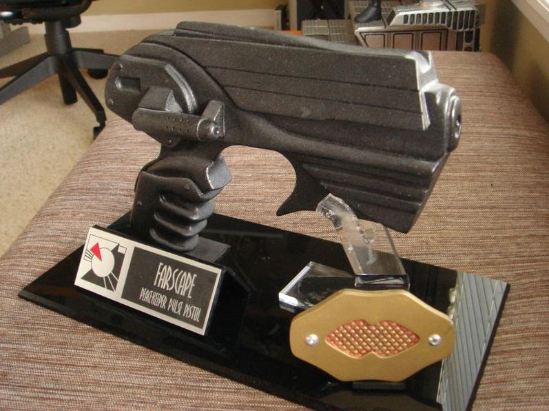 Farscape Peacekeeper Pulse Pistol Prop Replica With