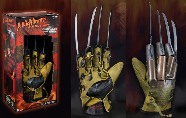 A NIGHTMARE ON ELM STREET (1984) Freddy Krueger Glove Replica (NECA)
