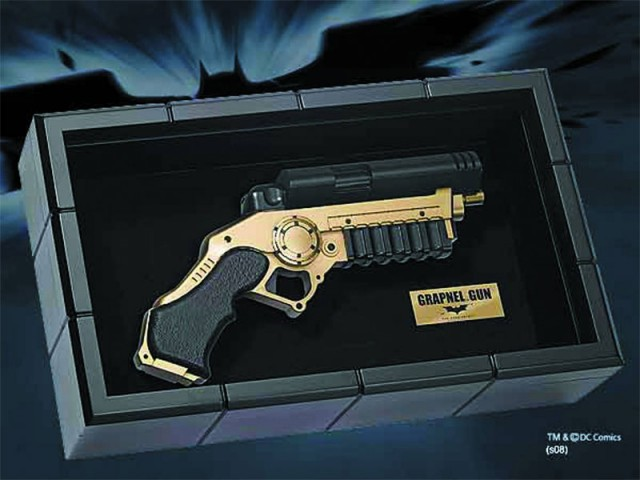 BATMAN BEGINS Grapnel Gun Prop Replica