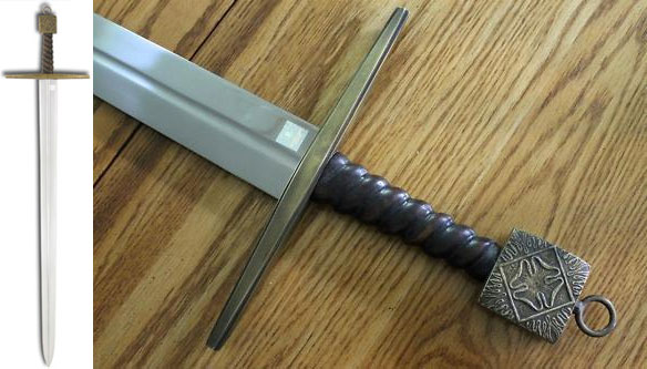 KINGDOM OF HEAVEN Sword of Reynald Prop Replica (Museum Replicas)