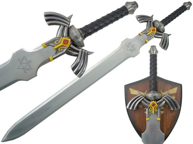 LEGEND OF ZELDA Twilight Princess Link's Master Sword Replica