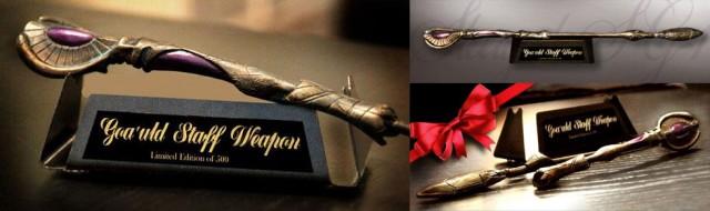 Limited-Edition-STARGATE-SG1-Miniature-Goauld-Staff-Weapon