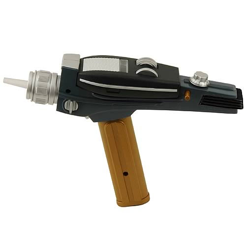 STAR TREK EE Exclusive Gold Handle Type 2 Phaser (Diamond Select)