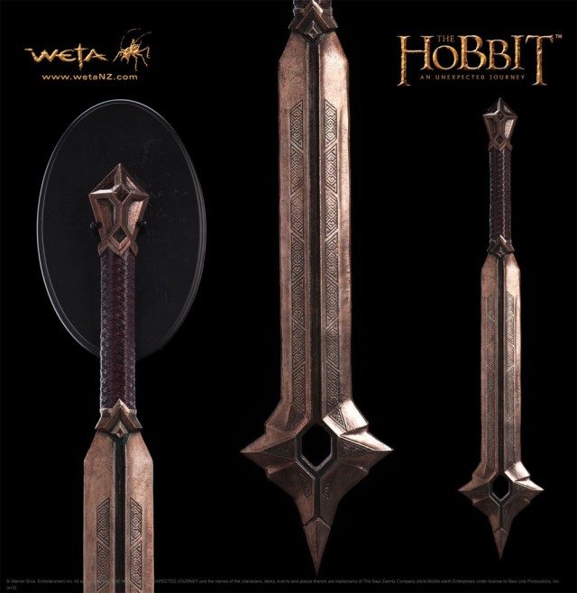 THE HOBBIT: AN UNEXPECTED JOURNEY Balin's Mace Prop Replica