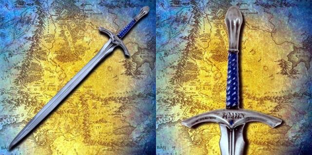 LORD OF THE RINGS Gandalf Glamdring Latex Sword Replica (Museum Replicas)
