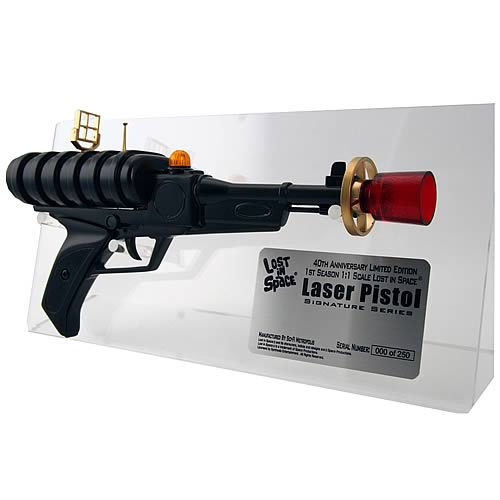 LOST IN SPACE Bill Mumy Signed Laser Pistol Prop Weapon Replica