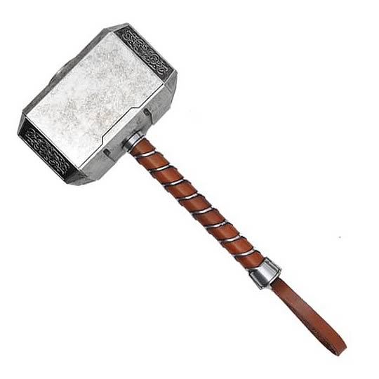 THE AVENGERS Thor Mjolnir Hammer Prop Weapon Replica Efx Collectibles