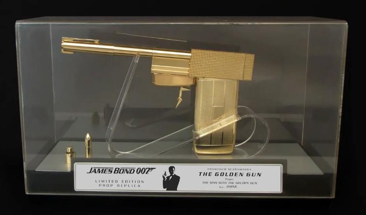 James bond 007: sd studios the golden gun limited edition prop.