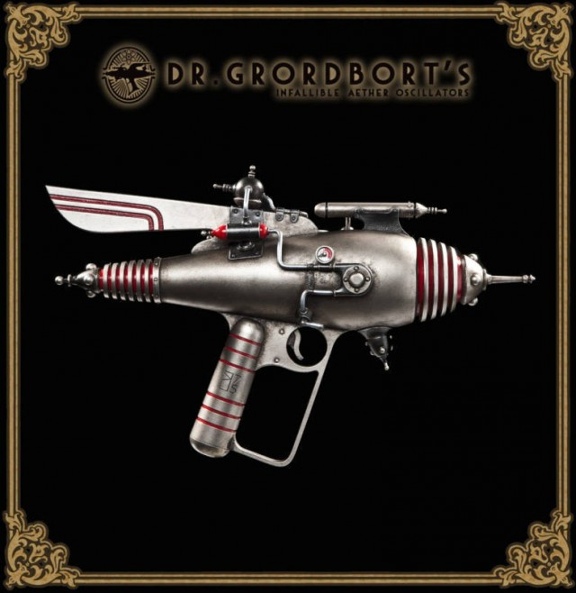 Dr Grordborts Pearce 75 Atom Ray Gun Replica