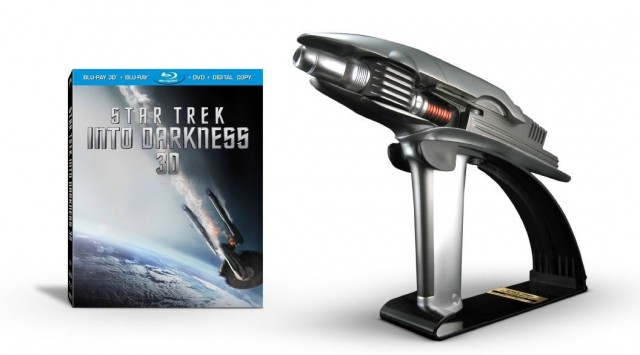 Star Trek Into Darkness Blu Ray and Phaser