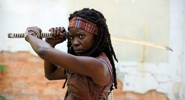 michonne the walking dead katana sword