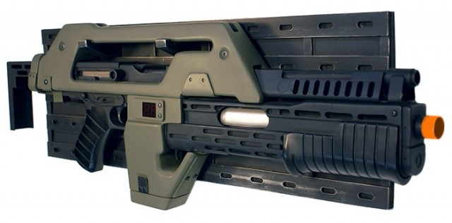 Limited Edition HCG Exclusive ALIENS M41a Colonial Space Marines Pulse Rifle Prop Replica