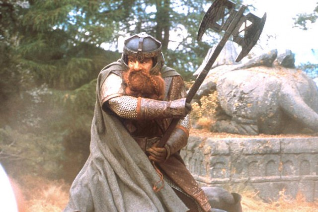 THE LORD OF THE RINGS Battle Axe of Gimli
