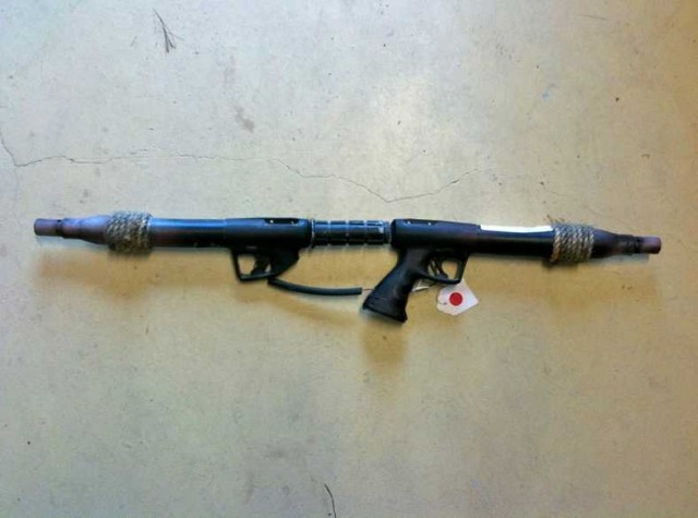 WATERWORLD Smoker Rifle Prop Replica
