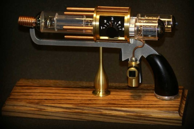 Warehouse 13 Tesla Prop Steampunk Raygun