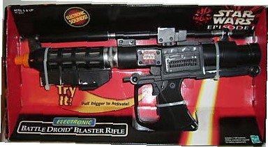 1999 Hasbro E-5 Battle Droid Blaster Toy