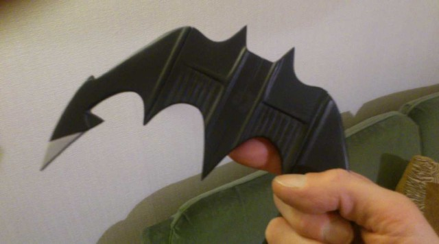 BATMAN 1989 Batarang Prop Replica