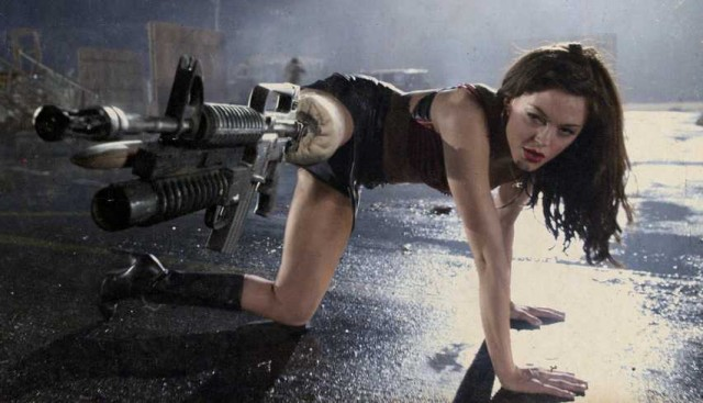 Cherry Darling Machine Gun Leg